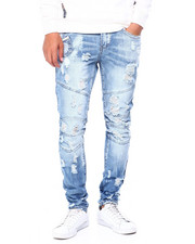 Heritage America - AGED RIPPED ARTICULATED JEAN-2397540