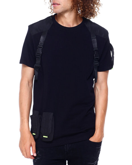 SWITCH - Army Tee w Buckle Strap detail