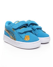 Puma - Sesame Street 50 Suede Statement Sneakers (4-10)-2396765
