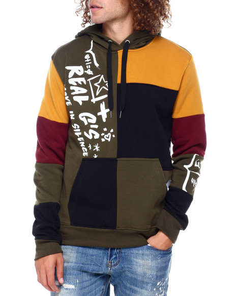 SWITCH - Colorblock hoodie