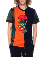 SWITCH - Camo Chenille Bear Tee-2397070