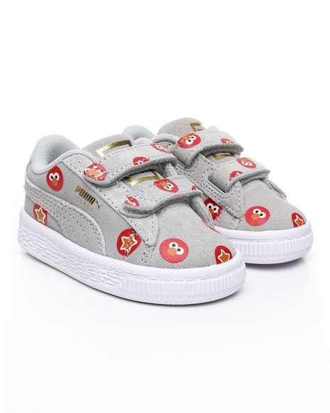 Puma - Sesame Street 50 Suede Statement Sneakers (4-10)