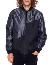 Mens-Fall - Colorblock Nylon Jacket-2397580