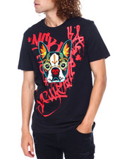 SWITCH - Boston Terrier Day of teh Dead Tee-2397125