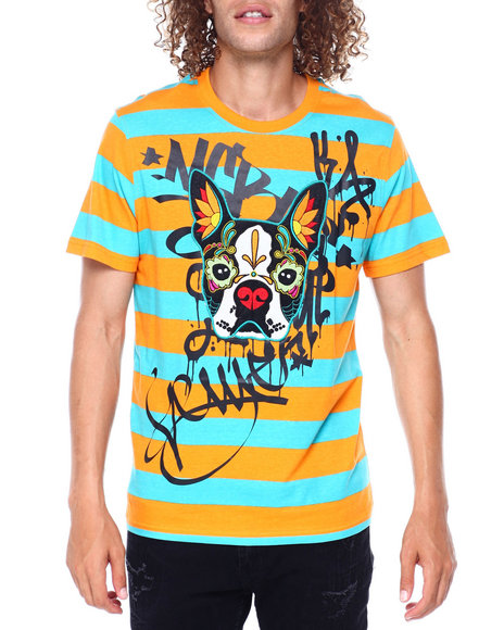 SWITCH - Boston Terrier Day of the Dead Tee