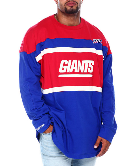 Mitchell & Ness - Giants L/S Heavy Jersey (B&T)