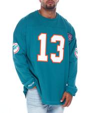 Mitchell & Ness - Dolphins Marino L/S Heavy Jersey (B&T)-2396065