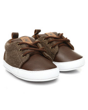 Beverly Hills Polo Club - Newborn Lace-Up Sneakers (1-4)-2397640