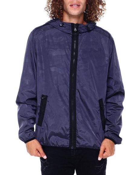 Sean John - Hoody Camo Nylon Jacket