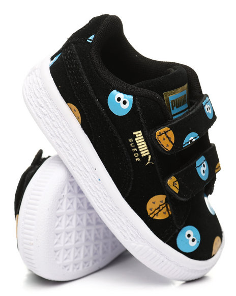 Puma - Sesame Street 50 Suede Statement Sneakers (4-10)