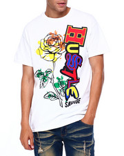 Shirts - Hustle Rose Tee-2397156