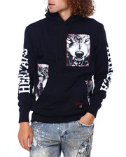 Heritage America - Wolf Patch Pullover Hoody-2397463