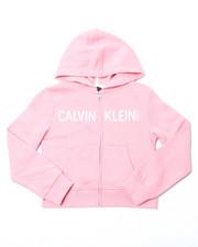 Calvin Klein - Zip Logo Hoody (7-16)-2398075