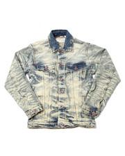 Denim Jackets - Wild Tiger Denim Jacket (8-20)-2398193