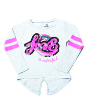 Sizes 2T-4T - Toddler - Split Back Varsity Sequin Graphic (2T-4T)-2399102