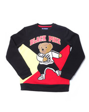 Sweatshirts & Sweaters - Fleece Crew Neck W/Patch (8-20)-2398326