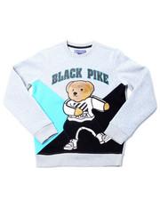 Sweatshirts & Sweaters - Fleece Crew Neck W/Patch (8-20)-2398321