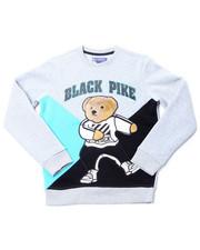 Sweatshirts & Sweaters - Fleece Crew Neck W/Patch (4-7)-2398316