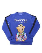 Sweatshirts & Sweaters - Fleece Crew Neck W/Patch (4-7)-2398311