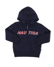 Nautica - Donovan Logo Hoodie (4-7)-2397970