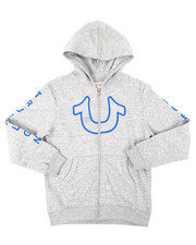 True Religion - TR Horseshoe Outline Hoodie (8-20)-2397932