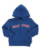 Nautica - Donovan Logo Hoodie (4-7)-2397975