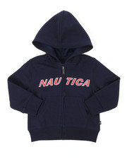 Nautica - Donovan Logo Hoodie (2T-4T)-2398084