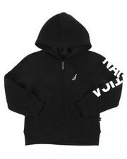 Hoodies - Leon Sleeve Logo Hoodie (4-7)-2398296