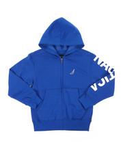 Nautica - Leon Sleeve Logo Hoodie (8-20)-2398284