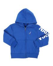 Nautica - Leon Sleeve Logo Hoodie (4-7)-2398301
