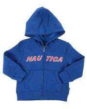 Nautica - Donovan Logo Hoodie (2T-4T)-2398107