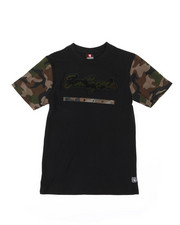 Tops - Camo Chenille Patch Tee (8-20)-2398409