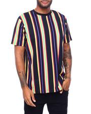 Shirts - BOLD STRIPE TEE -NEON-2398577