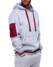 Men - Hoody with Pop Color Pocket-2399282