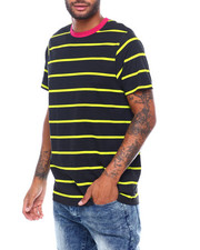 Shirts - NEON STRIPE TEE-2398592