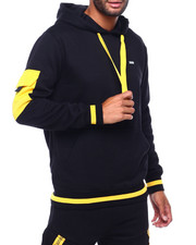 Men - Hoody with Pop Color Pocket-2399110