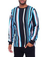Shirts - LS VERTICAL STRIPE TEE -PASTEL STRIPE-2398587