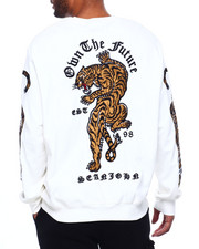 Sean John - Ls Own The Future Tiger Crewneck Sweatshirt-2398615