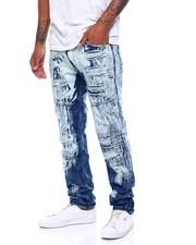 Men - Seamed Moto Jean -Dk Blue Rinse-2399345