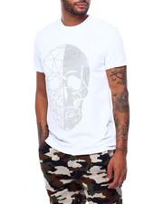 Shirts - Split Geo Crystal Skull Tee-2398198