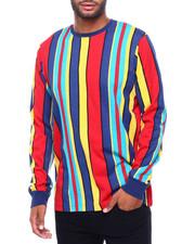 Shirts - LS VERTICAL STRIPE TEE -CANDY STRIPE-2398538