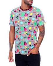 Shirts - 80S GEO PRINT TEE-2398623