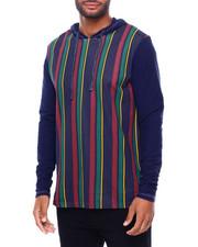Shirts - FRANK STRIPE HOODIE-2398699