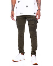Mens-Fall - Twill Cargo Moto Pant-2399482