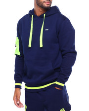 Men - Hoody with Pop Color Pocket-2399339