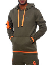 Men - Hoody with Pop Color Pocket-2399333