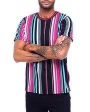 Shirts - VERTICAL STRIPE TEE-2398597