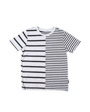 Brooklyn Cloth - Split Stripe Crewneck S/S Tee (8-20)-2398433