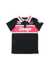 Brooklyn Cloth - Savage Stripe Polo (8-20)-2398477