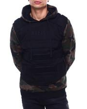 Hoodies - Padding Vest Fleece Hoody-2399475